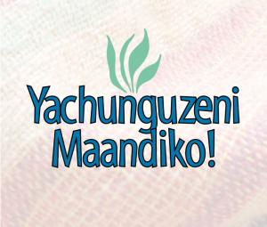yachunguzeni maandiko